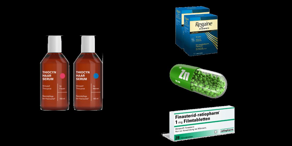 Alternativen zu Thiocyanat bei Haarausfall