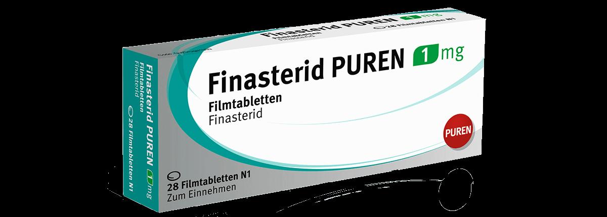 Finasterid PUREN 1 mg gegen Haarausfall