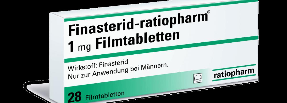 Finasterid-ratiopharm 1 mg gegen Haarausfall